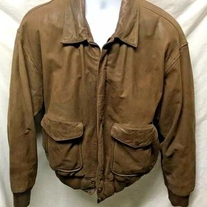 Wilson Thinsulate Adventure Mens Leather Bomber Co